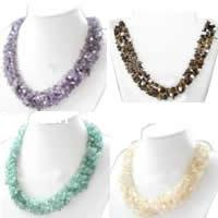 Gemstone Chip Necklaces