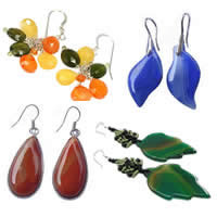 Agate Dangle Earring