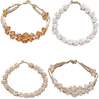 CRYSTALLIZED™ Crystal Gold Filled Bracelets