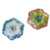 Beads Smooth Cloisonne, Lule, asnjë, 15x5mm, : 1mm, 30PC/Qese,  Qese