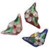 Beads filigran Cloisonne, Shufër, asnjë, 22x10.50x7mm, : 1mm, 60PC/Qese,  Qese