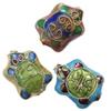 Beads filigran Cloisonne, Kafshë, asnjë, 14x18x9mm, : 1mm, 60PC/Qese,  Qese