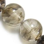 Glass Beads shalqi, Round, natyror, 8mm, : 1mm, : 15.5Inç, 10Fillesat/Shumë,  Shumë