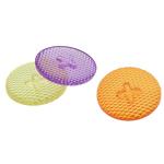 Beads transparente akrilik, Round Flat, i tejdukshëm, ngjyra të përziera, 21x5mm, 462PC/Qese,  Qese
