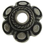Bali Sterling Silver Bead Caps, Tajlandë, Lule, asnjë, asnjë, asnjë, 12x12x4.10mm, : 2.7mm, 5PC/Qese,  Qese