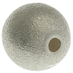 925 Sterling Silver Beads, Round, Stardust, 8mm, : 1.5mm, 5PC/Qese,  Qese