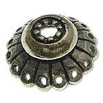 Bali Sterling Silver Bead Caps, Tajlandë, Lule, asnjë, asnjë, asnjë, 12.10x4.80mm, : 1.7mm, 5PC/Qese,  Qese
