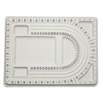 Bordi Bead Projektimi, Plastik, Drejtkëndësh, e bardhë, 240x327x150mm,  PC