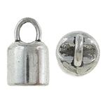 Zink Alloy Cap Fundi, Alloy zink, Ngjyra antike argjendi praruar, asnjë, , nikel çojë \x26amp; kadmium falas, 8x14mm, : 5.5mm, 526PC/KG,  KG