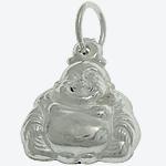 925 Sterling Silver varëse, Buda, argjend praruar vërtetë, 11.50x14x5.40mm, : 4mm, 3PC/Qese,  Qese