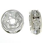 Ndarësit diamant i rremë, Petull e ëmbël në formë gjevreku, i praruar, Kristal, 8x8x3.50mm, : 1.8mm, 500PC/Qese,  Qese