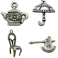 Zinc Alloy Tool Pendants