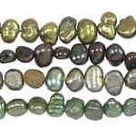 Barok Beads kulturuar Pearl ujërave të ëmbla, Pearl kulturuar ujërave të ëmbla, ngjyra të përziera, 3-4mm, : 0.8mm, :14.5Inç, 10Fillesat/Qese,  Qese