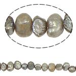 Barok Beads kulturuar Pearl ujërave të ëmbla, Pearl kulturuar ujërave të ëmbla, 4-5mm, : 0.8mm, :14.5Inç,  Qese