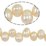 Cluster Ball Beads kulturuar Pearl, Një, 7-8mm, : 1mm, :14Inç,  14Inç,