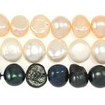 Cluster Ball Beads kulturuar Pearl, Një, 8-9mm, : 1mm, :14.5Inç,  14.5Inç,