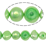 Barok Beads kulturuar Pearl ujërave të ëmbla, Pearl kulturuar ujërave të ëmbla, Një, 8-9mm, : 0.8mm, :15Inç,  15Inç,