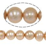 Cluster Ball Beads kulturuar Pearl, Një, 6-7mm, : 1mm, :14.5Inç,  14.5Inç,