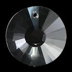 Crystal Pendants, Kristal, Monedhë, Kristal, 20x8mm, : 1mm,  PC
