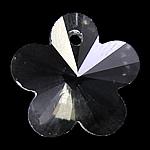 Crystal Pendants, Kristal, Lule, Kristal, 18x17x9mm, : 1mm, 10PC/Qese,  Qese