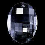 Crystal Pendants, Kristal, Oval, Kristal, 23x32x11mm, : 1mm,  PC