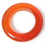 Pendants Red agat, Petull e ëmbël në formë gjevreku, 13x13x2mm, : 8mm, 50PC/Shumë,  Shumë