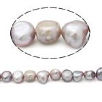 Barok Beads kulturuar Pearl ujërave të ëmbla, Pearl kulturuar ujërave të ëmbla, Një, 10-11mm, : 0.8mm, :15Inç,  15Inç,
