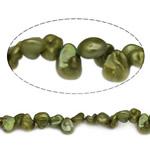 Barok Beads kulturuar Pearl ujërave të ëmbla, Pearl kulturuar ujërave të ëmbla, 6-9mm, : 0.8mm, :15Inç,  15Inç,