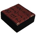 Velveteen byzylyk Box, Karton, Katror, 90x90x35mm, 5PC/Qese,  Qese