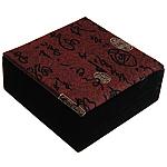 Velveteen byzylyk Box, Katror, 100x100x40mm, 5PC/Qese,  Qese