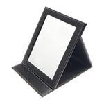 Furnizime Kozmetike, Lëkurë, Drejtkëndësh, e zezë, 235x185x20mm, 2PC/Shumë,  Shumë
