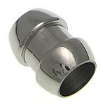 Beads bizhuteri çelik inox, Stainless Steel, Tub, asnjë, 13x10mm, : 7mm, 50PC/Shumë,  Shumë