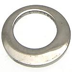 Edelstahl Schmuck Anhänger, Kreisring, originale Farbe, 11x11x1.50mm, Bohrung:ca. 7mm, 100PCs/Menge, verkauft von Menge