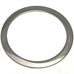 Pendants Stainless Steel bizhuteri, Petull e ëmbël në formë gjevreku, 30x30x1mm, : 24.5mm, 50PC/Shumë,  Shumë