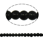 Beads Round Crystal, Kristal, Reaktiv, 6mm, : 1.5mm, :11.5Inç, 10Fillesat/Qese,  Qese