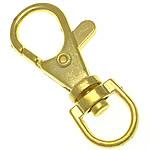 Alloy zink kapje karavidhe kthyeshëm, ngjyrë ari praruar, asnjë, , nikel çojë \x26amp; kadmium falas, 14.50x39.20x6.50mm, : 9x6.5mm, 500PC/Qese,  Qese