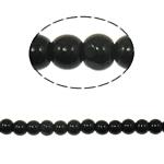 Beads Round Crystal, Kristal, Reaktiv, 4mm, : 1mm, :12.5Inç, 10Fillesat/Qese,  Qese