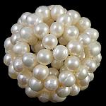 Cluster Ball Beads kulturuar Pearl, Pearl kulturuar ujërave të ëmbla, Round, 40mm,  PC