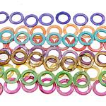 Beads Natyrore Colored Shell, Predhë, Round, asnjë, ngjyra të përziera, 30x3mm, : 1.5mm, :15.5Inç, 10Fillesat/Qese,  Qese