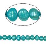 Barok Beads kulturuar Pearl ujërave të ëmbla, Pearl kulturuar ujërave të ëmbla, 6-7mm, : 0.8mm, :14.5Inç,  14.5Inç,