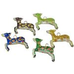 Pendants Cloisonne, Kafshë, i përzier, 31x29x4mm, : 3mm, 20PC/Qese,  Qese