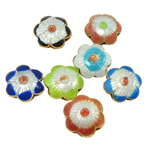 Beads Smooth Cloisonne, Lule, 12x13.50x5.50mm, : 2.5x1.5mm, 20PC/Qese,  Qese