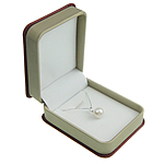 Pendants Pearl ujërave të ëmbla, Pearl kulturuar ujërave të ëmbla, natyror, e bardhë, 10-11mm, : 3x4mm,  PC