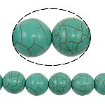 Bruz Beads, Bruz sintetike, Round, 14mm, : 1mm, : 15.5Inç, 28PC/Fije floku,  15.5Inç,