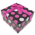 Byzylyk karton Box, Drejtkëndësh, e zezë, 90x80x55mm, 20PC/Shumë,  Shumë