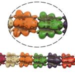 Bruz Beads, Bruz sintetike, Kafshë, ngjyra të përziera, 15x14x4mm, : 1mm, : 16Inç, 32PC/Fije floku,  16Inç,