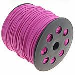 Cord Lesh, Kurrizit Lesh, Pink fuchsia, 3x1.50mm, :100Oborr,  PC