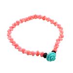 Byzylyk Coral, Coral sintetike, sintetik, rozë, 11x11x8mm, :6Inç, 10Fillesat/Qese,  Qese