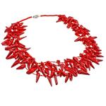 Coral gjerdan, Coral Natyrore, i kuq, 14-26mm, :21Inç,  21Inç,