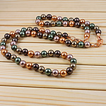 Jug Deti Shell gjerdan, Round, multi-colored, 10mm, :37Inç,  37Inç,